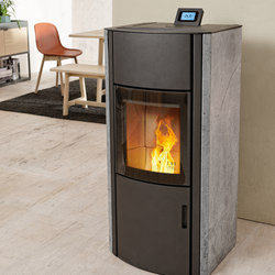 Polly 2.0 / Polly light | Pellet burning stoves | Austroflamm