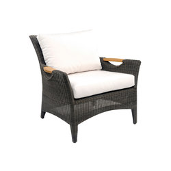Culebra Lounge Chair | Garden armchairs | Kingsley Bate