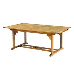 "Essex 106"" Rectangular Extension Table | Mesas comedor | Kingsley Bate"