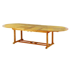 "Essex 114"" Oval Extension Table 