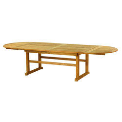 "Essex 122"" Oval Extension Table 