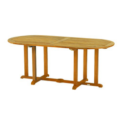 Essex Oval Dining Table | Tables à manger de jardin | Kingsley Bate