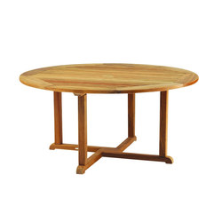 Essex Round Dining Table | Tables à manger de jardin | Kingsley Bate