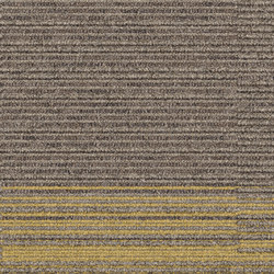 Off Line Mushroom Mustard   Carpet tiles   Interface USA