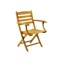 Gearhart Folding Armchair | Sedie da giardino | Kingsley Bate