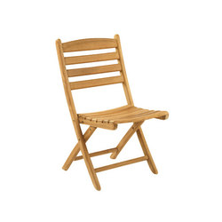 Gearhart Folding Side Chair | Sillas de jardín | Kingsley Bate