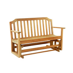 Glider | Garden benches | Kingsley Bate
