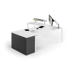 Solos table system | Contract tables | Assmann Büromöbel