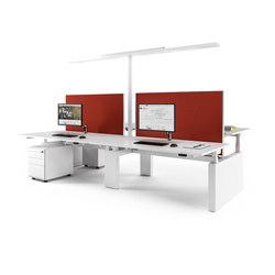 Canvaro Compact Schreibtischsystem | Tischsysteme | Assmann Büromöbel