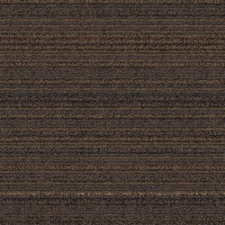 Silver Linings SL920 Walnut Line | Carpet tiles | Interface USA