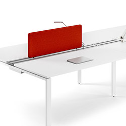 Flexter Desk organizer | Cloisons pour table | Assmann Büromöbel