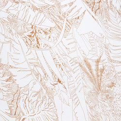 Jungle | Copper | Wall coverings / wallpapers | Petite Friture