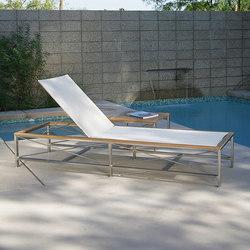 Ibiza Chaise | Méridiennes de jardin | Kingsley Bate
