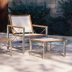 Ibiza Dining Chair + Ottoman | Poltrone da giardino | Kingsley Bate