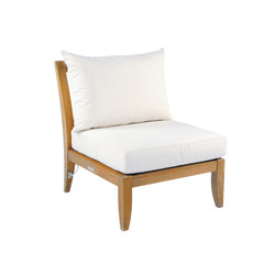 Ipanema Sectional Armless Chair | Gartensessel | Kingsley Bate