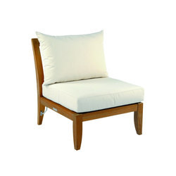 Ipanema Sectional Armless Chair | Garden armchairs | Kingsley Bate
