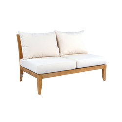 Ipanema Sectional Armless Settee | Garden sofas | Kingsley Bate