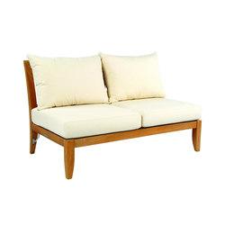 Ipanema Sectional Armless Settee | Garden sofas | Kingsley Bate