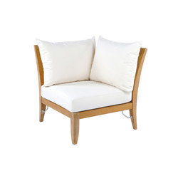 Ipanema Sectional Corner Chair | Gartensessel | Kingsley Bate