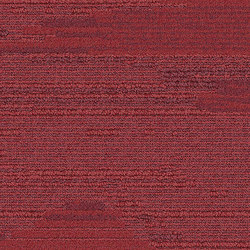 Urban Retreat UR501 Red | Carpet tiles | Interface USA
