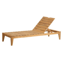 Mendocino Chaise | Sun loungers | Kingsley Bate