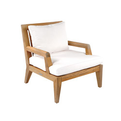 Mendocino Deep Seating Lounge Chair | Sillones de jardín | Kingsley Bate