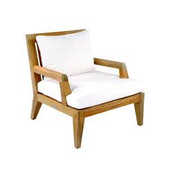 Mendocino Deep Seating Lounge Chair | Garden armchairs | Kingsley Bate