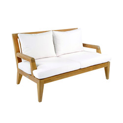 Mendocino Deep Seating Settee | Gartensofas | Kingsley-Bate