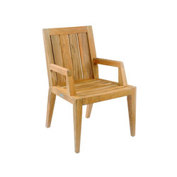 Mendocino Dining Armchair | Garden chairs | Kingsley Bate