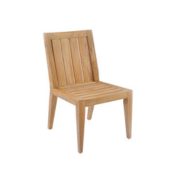 Mendocino Dining Side Chair | Sièges de jardin | Kingsley Bate