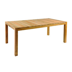 Mendocino Rectangular Dining Table | Tables à manger de jardin | Kingsley Bate