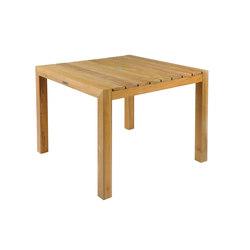 Mendocino Square Dining Table   Tables à manger de jardin   Kingsley Bate