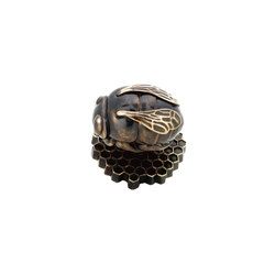 Netsuke - Bee Knob Set | Pomos | Martin Pierce Hardware