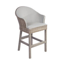 Milano Bar Chair | Tabourets de bar de jardin | Kingsley Bate
