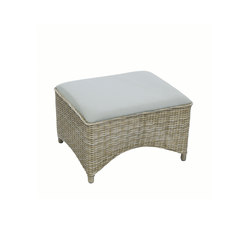 Milano Club Ottoman | Garden stools | Kingsley Bate