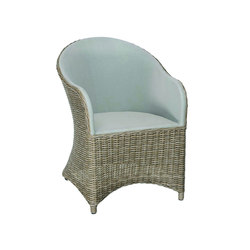 Milano Dining Armchair | Garden chairs | Kingsley Bate