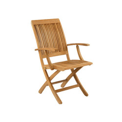 Monterey Folding Armchair | Garden chairs | Kingsley Bate