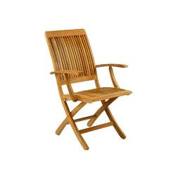 Monterey Folding Armchair | Sedie da giardino | Kingsley Bate