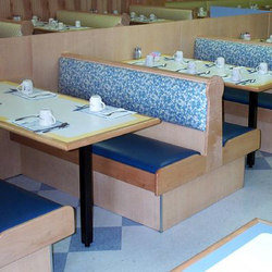 Booth | Restaurant seating systems | BK Barrit