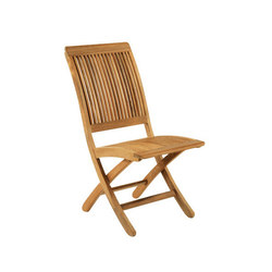 Monterey Folding Side Chair | Sillas de jardín | Kingsley Bate