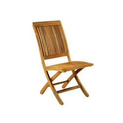 Monterey Folding Side Chair | Sedie da giardino | Kingsley Bate