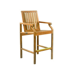 Nantucket Bar Chair | Taburetes de bar de jardín | Kingsley Bate