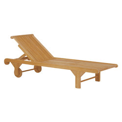 Nantucket Chaise | Méridiennes de jardin | Kingsley Bate