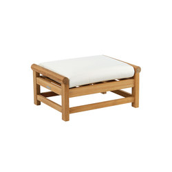 Nantucket Deep Seating Ottoman | Stools | Kingsley Bate