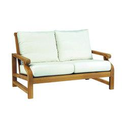 Nantucket Deep Seating Settee | Gartensofas | Kingsley-Bate
