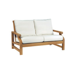 Nantucket Deep Seating Settee | Sofás de jardín | Kingsley Bate