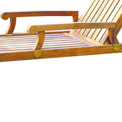 Nantucket Chaise Arms | Garden accessories | Kingsley Bate