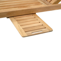 Nantucket Chaise Tray | Accessori da giardino | Kingsley Bate