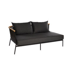 Riad 2-Seater Sofa 180cm Arm Left/Right | Gartensofas | Oasiq