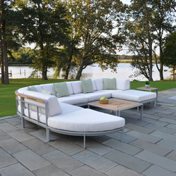 Naples Sectional | Sedute lounge da giardino | Kingsley Bate